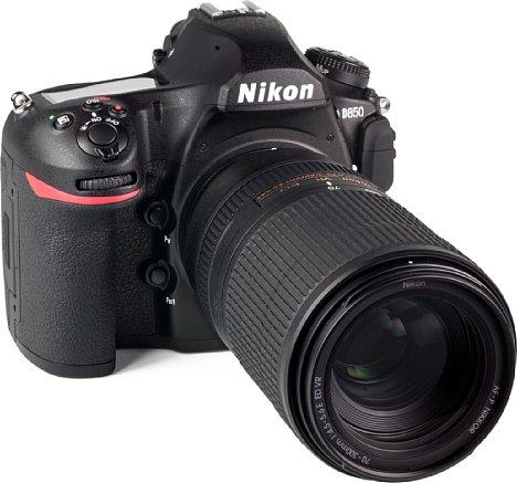 Bild Selbst an der Nikon D850 überrascht das AF-P Nikkor 70-300 mm 4.5-5.6E ED VR mit einer erstaunlich hohen Bildqualität, die im Gegensatz zu manch anderem Telezoom am langen Brennweitenende kaum nachlässt. [Foto: MediaNord]