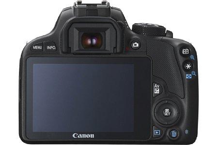 Bild Der über eine Million Bildpunkte auflösende Touchscreen der Canon EOS 100D ist fest verbaut. [Foto: Canon]