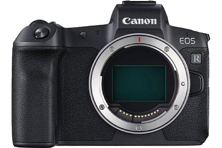 Canon EOS R mit neuem Bajonett mit 54 mm Durchmesser. [Foto: Canon]
