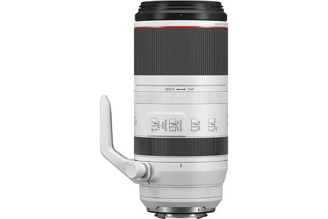Bild Bei gleicher Größe wie ein 100-400 mm bietet das Canon RF 100-500 mm F4.5-7.1L IS USM 100 Millimeter mehr Brennweite und ist bei 400 mm nur 1/4 Blende lichtschwächer. [Foto: Canon]