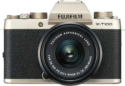 Fujifilm X-T100. [Foto: Fujifilm]