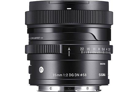Sigma 35 mm F2 DG DN Contemporary. [Foto: Sigma]