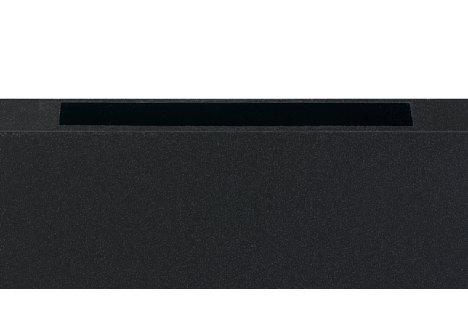 Bild Mit der Sensor-Leiste auf der Oberseite kann der Bildlauf auf dem Carver von Aura Frames gesteuert werden. [Foto: MediaNord]