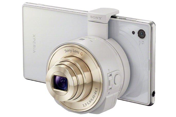 Bild Alternativ sind die Kameramodule auch in Weiß erhältlich. [Foto: Sony]