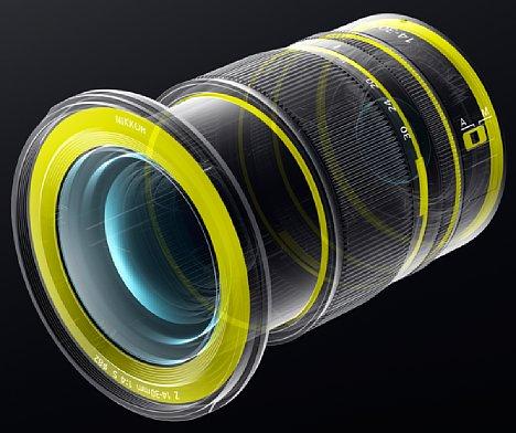 Bild Zahlreiche Dichtungen verhindern beim Nikon Z 14-30 mm 1:4 S das Eindringen von Spritzwasser und Staub. [Foto: Nikon]