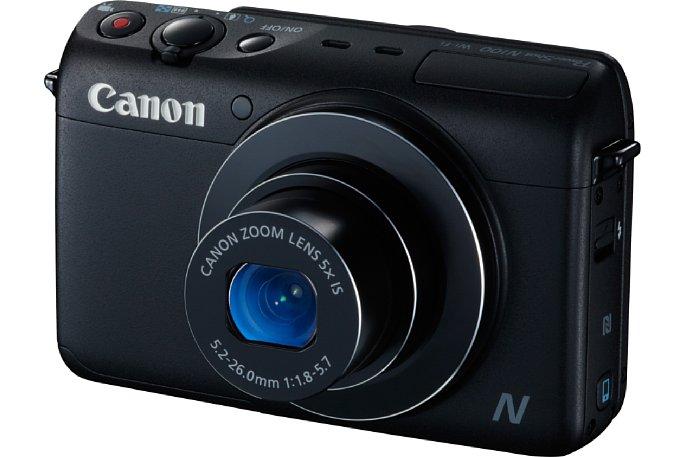 Bild Canon PowerShot N100: Ein eher konservativer Kamera-Look, kombiniert mit vielen fortschrittlichen Funktionen. [Foto: Canon]