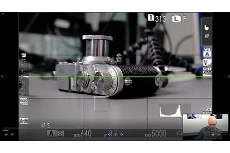 "Bild Screenshot aus dem Schulungsvideo""Das Fujifilm X-System"" mit Peter Fauland. [Foto: Imaging One]"