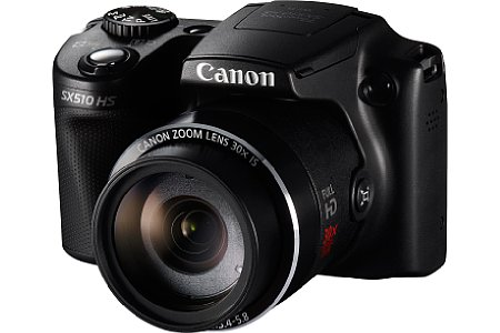 Bild Auch die Canon PowerShot SX510 HS verfügt über einen neuen Lithium-Ionen-Akku. [Foto: Canon]