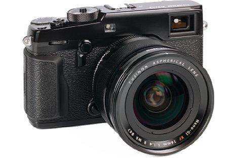 Bild An der X-Pro2 macht dasFujifilm XF 16 mm F1.4 R WR eine sehr gute Figur, zumal es wie die Kamera hochwertig verarbeitet und abgedichtet ist. Zur X-T1 passt das Objektiv ebenfalls perfekt. [Foto: MediaNord]