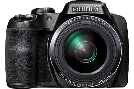 Bild Die Fujifilm FinePix S9900W stabilisiert Videos über ein fünfachsiges Bildstabilisierungssystem. Außerdem steht eine Zeitlupenfunktion zur Verfügung. [Foto: Fujifilm]