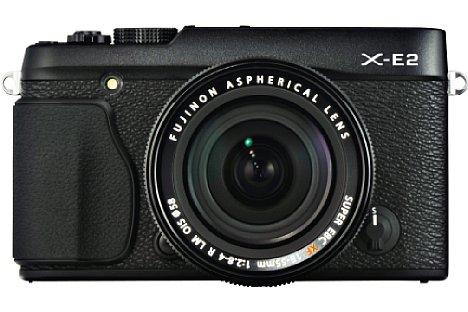Bild Videos nimmt die Fujifilm X-E2 in Full-HD nun mit bis zu 60 Bildern pro Sekunde auf, außerdem überträgt sie Fotos und Videos drahtlos via WLAN. [Foto: Fujifilm]