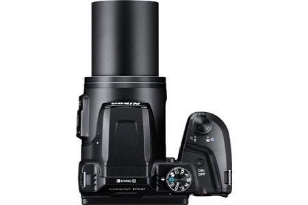 Bild Das Zoom der Nikon Coolpix B500 wurde im Vergleich zum Vorgängermodell L840 auf 40-fach von 22,5 bis 900 Millimeter erweitert. [Foto: Nikon]
