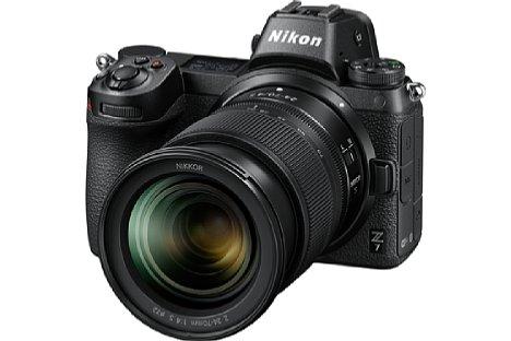 Bild Die Z 7 ist das erste spiegellose Vollformat-Flaggschiff von Nikons neuem Z-System. Der Vollformatsensor ist bildstabilisiert und integriert Phasen-Autofokus-Sensoren auf 90 Prozent der Fläche. [Foto: Nikon]