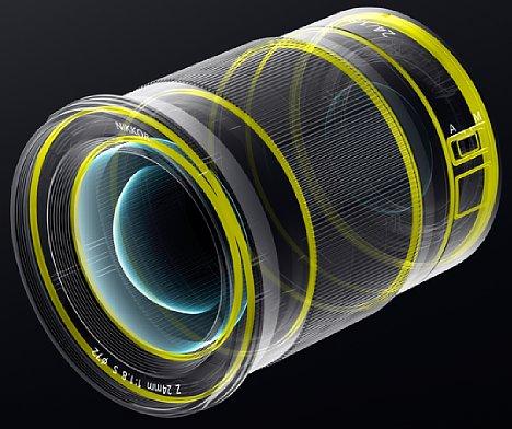 Bild Das Nikon Z 24 mm F1.8 S ist gegen Staub und Spritzwasser geschützt. [Foto: Nikon]
