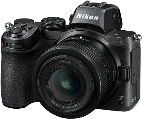 Bild Nikon Z 5 mit Z 24-50 mm. [Foto: Nikon]