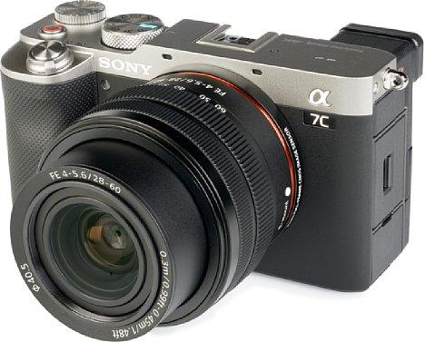 Bild Sony Alpha 7C mit FE 28-60 mm 4-5.6. [Foto: MediaNord]