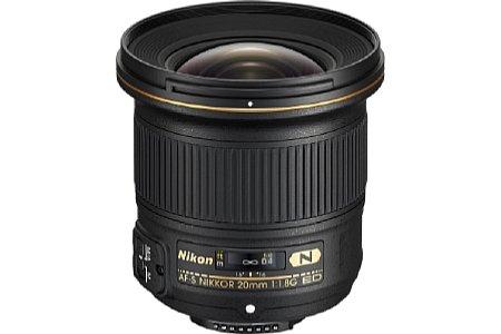 Nikon AF-S 20 mm 1,8 G ED [Foto: Nikon]