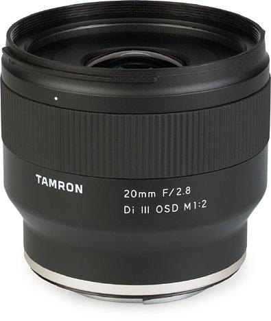 Bild Tamron 20 mm F2.8 SI III OSD M1:2 (F050). [Foto: MediaNord]