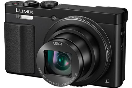 Bild Ab März 2015 ist die Panasonic Lumix DMC-TZ71 nicht nur in Silber-Schwarz, sondern auch in Schwarz erhältlich. [Foto: Panasonic]