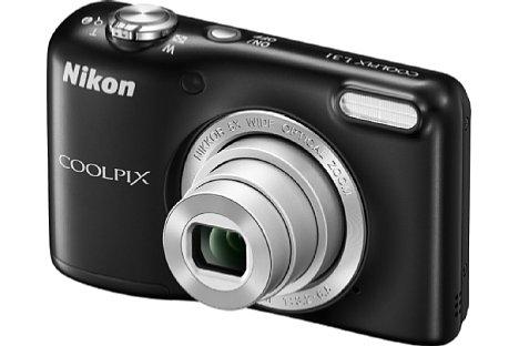 Bild Die Nikon Coolpix L31 bietet ebenfalls ein optisches Fünffachzoom, löst aber lediglich 16 Megapixel auf. [Foto: Nikon]