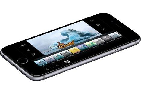 Bild Die Kamera hat beim Apple iPhone 6S im Vergleich zum Vorgängermodell 50 Prozent an Auflösung zugelegt, bleibt damit aber immer noch zurückhaltend, das heißt, Apple macht das Pixelrennen nicht mit. [Foto: Apple]