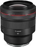 Neben einem zwei Zentimeter breiten Fokusring bietet das Canon RF 85 mm F1.2L USM noch einen ein Zentimeter breiten, gerasterten Einstellring. [Foto: Canon]