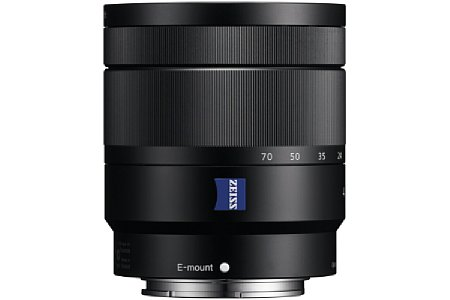 Sony E T* 16-70 mm F4 ZA OSS Vario-Tessar (SEL-1670Z) [Foto: Sony]