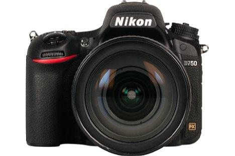 Bild Das stabile Monocoque-Gehäuse der Nikon D750 ist gegen Spritzwasser und Staub geschützt. [Foto: MediaNord]