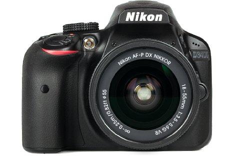 Bild Das neue Setobjektiv der Nikon D4300 namens AF-P DX Nikkor 18-55 mm 1:3,5-5,6G VR überraschte im Labortest vor allem mit der sehr gleichmäßigen, etwas abgeblendet sehr hohen Auflösung. [Foto: MediaNord]