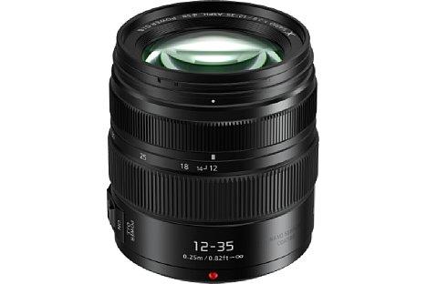 Bild Panasonic Lumix G 2.8 12-35 mm wurde ebenfalls optisch überarbeitet und kommt im März 2017 für knapp 1.000 Euro auf den Markt. [Foto: Panasonic]