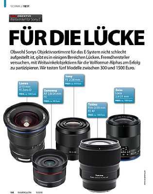 fotoMagazin 09/2018. [Foto: Jahr Top Special Verlag]