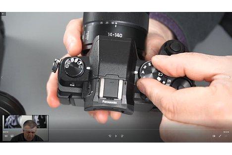 Bild Screenshot aus dem Panasonic-Fortgeschrittenen-Schulungsvideo, hier mit der Panasonic Lumix G81. [Foto: MediaNord]