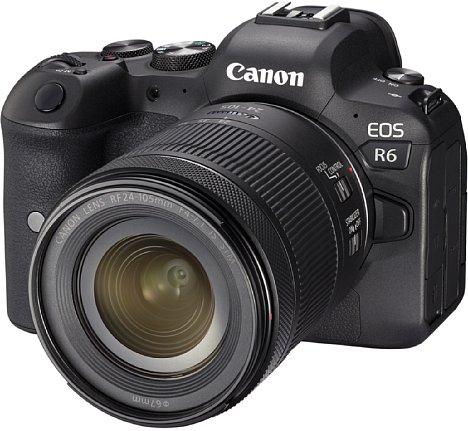 Bild Die Canon EOS R6 besitzt einen zur Bildstabilisierung beweglich gelagerten 20-Megapixel-Kleinbild-Sensor und zeichnet Videos mit 1,06-fachem Crop bei 4K60p auf. [Foto: Canon]