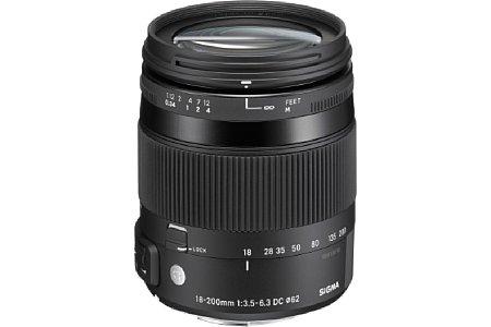 Bild Sigma C 18-200 mm F3.5-6.3 DC Makro OS HSM [Foto: Sigma]