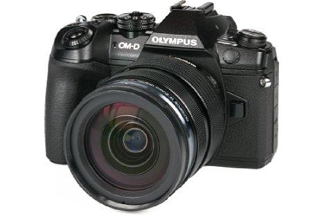 Bild Olympus OM-D E-M1 Mark II mit 12-40 mm f2.8. [Foto: MediaNord]