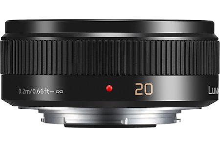 Panasonic Lumix G 20 mm F1.7 Asph. II Pancake [Foto: Panasonic]