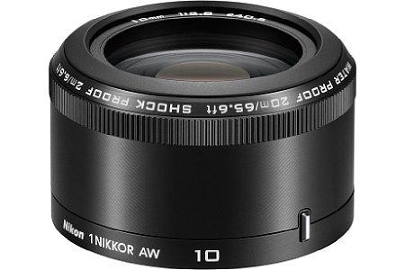 Nikon 1-Mount AW 10 mm 2.8 [Foto: Nikon]