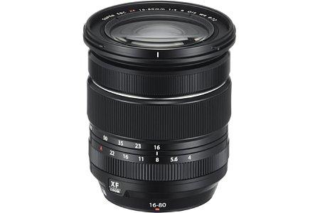 Bild Fujifilm XF 16-80 mm F4 R OIS WR. [Foto: Fujifilm]