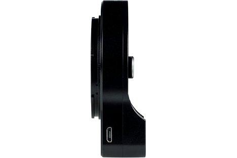 Bild Die USB-Schnittstelle am Megadap MTZ11 Objektivadapter wird für die kinderleichten Firmwareupdates genutzt. [Foto: MediaNord]