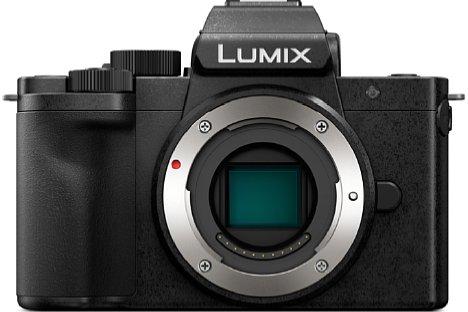 Bild Der 17,3x13mm große Micro-Four-Thirds-Sensor der Panasonic Lumix DC-G110 löst 20 Megapixel für Fotos und 4K für Videos auf. [Foto: Panasonic]