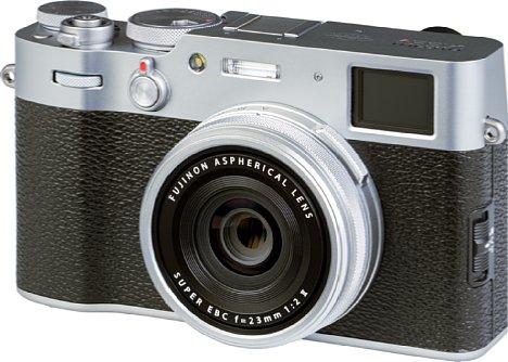 Bild Das Design der Fujifilm X100V erinnert an analoge Sucherkameras der 60er Jahre. [Foto: MediaNord]