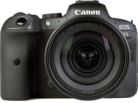 Bild Das Setobjektiv Canon RF 24-105 mm F4-7.1 IS STM glänzt zwar nicht unbedingt mit hoher Lichtstärke, besitzt aber einen Bildstabilisator, einen schnellen Autofokus und eine anständige Bildqualität. [Foto: MediaNord]