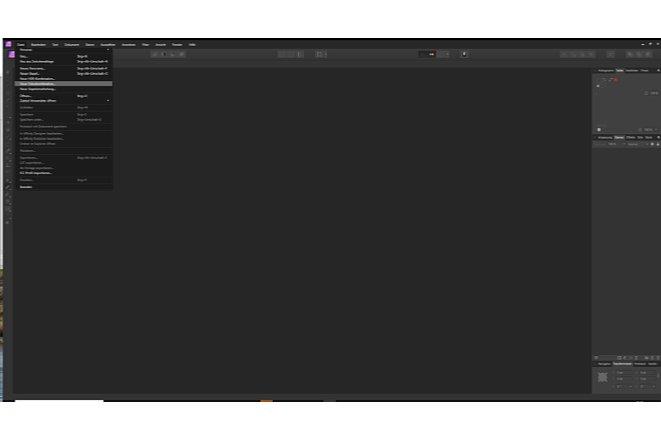 Bild In Affinity Photo ist die Fokus-Stacking-Funktion unter dem Reiter Datei zu finden. [Foto: MediaNord]