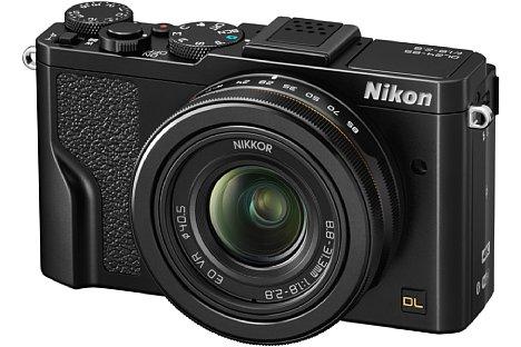 """Bild Die Nikon DL24-85 f/1.8-2.8 kombiniert ein lichtstarkes Universalobjektiv mit einem rückwärtig belichteten, 20 Megapixel auflösenden 1""""-Sensor. [Foto: Nikon]"""