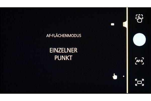 Bild Der Autofokus der Zeiss ZX1 besitzt einen Flächen-AF und einen verschiebbaren einzelnen Messpunkt. Eine Verfolgungsfunktion oder Augen-AF sucht man vergeblich. [Foto: MediaNord]