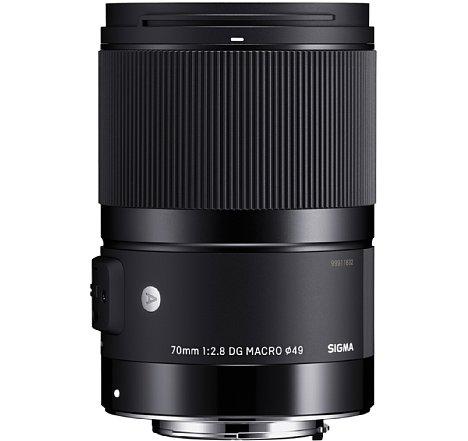 Bild Das Sigma 70 mm F2.8 DG Macro Art besitzt einen Fly-by-Wire-Fokusring mit rein elektronischer Kopplung. [Foto: Sigma]