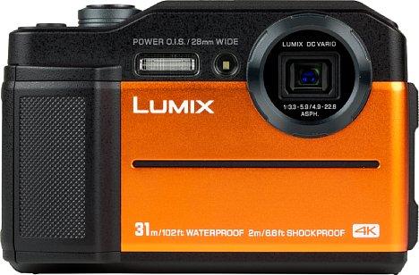 Bild Die Panasonic Lumix DC-FT7 ist in Orange, Schwarz und maritimem Blau erhältlich. [Foto: MediaNord]