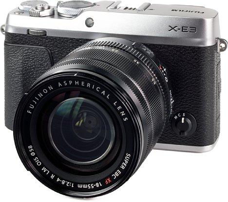 Bild Die X-E3 ist die kompakteste Systemkamera von Fujifilm. Technisch entspricht sie der X-T20 und bietet damit viel Technologie für den Preis, etwa eine 4K-Videofunktion oder einen schnellen Phasen-Autofokus. [Foto: MediaNord]
