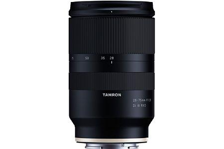 Bild Das Tamron 28-75 mm F/2.8 Di III RXD (Modell A036) ist nicht nur kompakt und leicht, sondern mit Spritzwasserschutz auch sehr robust gebaut. [Foto: Tamron]