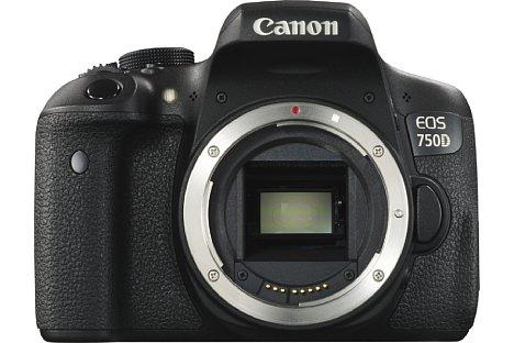 Bild 24,2 Megapixel löst der neue APS-C CMOS-Sensor der Canon EOS 750D auf. Er verfügt über den neuen Hybrid CMOS AF III, der deutlich schneller arbeitet als das Vorgängersystem. [Foto: Canon]